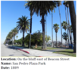 This park dates back to 1889, the year after San Pedro incorporated as a city.
