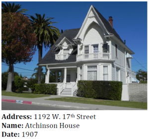 This Queen Anne / Carpenter Gothic house was built by the operator of the first harbor ferry service in San Pedro.
