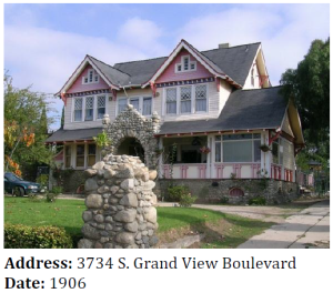 A remarkable Craftsman house with Queen Anne influences in Mar Vista.