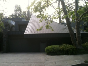 The David Fischer House, a 1970s design by Marshall Lewis.