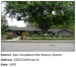 A Traditional Ranch house in Woodland Hills.