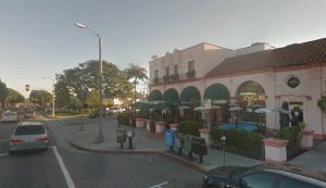 Looking south at Sunset and Swarthmore. Image: Google Maps Street View.