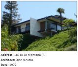 A Mid-Century Modern house by second-generation architect Dion Neutra.