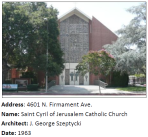 Mid-Century Modern again, this time for a church.