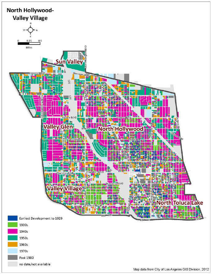 SurveyLAs Findings In North Hollywood And Valley Village The - Los angeles zoning map