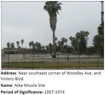 During the Cold War, LA was outfitted with anti-air missiles that were on alert at sites such as this. We got a tip about this site on MyHistoricLA.org!